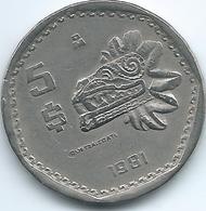 Mexico - 1981 Mo - 5 Pesos - KM485 - Mexico