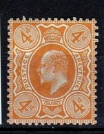Effigie Sur Fond Plein Georges V Timbre Neuf** N° 122 COTE 25 EUROS - 1902-1951 (Rois)