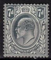 Effigie Sur Fond Plein Edouard VII Timbre Neuf** N° 123 COTE 12 EUROS - Ungebraucht