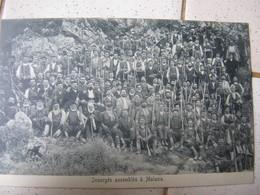 Insurgés Assemblés à Malaxa  .  TBE - Griechenland