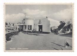 Cartolina-Postcard Gran Formato, Viaggiata (sent), Marsala, Società Canottieri - Marsala