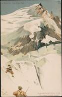 AK/CP  Berggesichter F. Killinger Le Mont Blanc    Ungel/uncirc. Um 1900   Erhaltung/Cond. 2  Nr. 01024 - Chamonix-Mont-Blanc