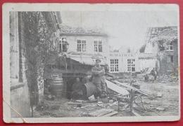 ZONNEBEKE - Passendale - Passchendoale - Passchendaele - Place Du Marché - Guerre 14-18 - Occupation Allemande - Zonnebeke