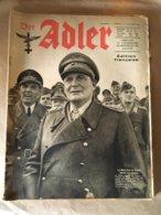 """Revue """" ADLER """" Berlin Le 12 Janvier 1943 N° 1 - 5. World Wars"""