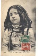 260. EN BRETAGNE . ENFANT BRETON . TRES JOLI VISAGE D'ENFANT . AFFR SUR LE RECTO - France