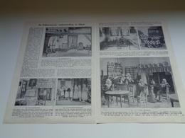 """Origineel Knipsel ( 2204 ) Uit Tijdschrift """" Ons Volk """"  1928 :   Gheel   Geel - Vieux Papiers"""