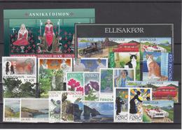 Faroe Islands 2011 - Full Year MNH ** From Year Pack - Faeroër