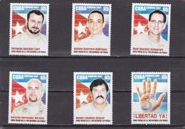 Cuba Nº 4487 Al 4492 - Unused Stamps