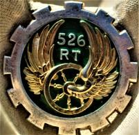 Rare Insigne  TRAIN. 526 Eme Groupe De Transport, - Heer