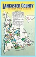 1844 - AMERIKA - USA - LANCASTER COUNTY - MAP - Cartes Géographiques