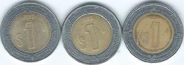 Mexico - 1 Nuevo Peso - 1995 - KM550; 1999 & 2012 - KM603 - Mexico