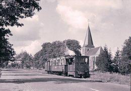 Pays-Bas, Geldersche Tramwegen, Train à Drempt, Photo 1957 BVA GTW 596.1 - Eisenbahnen