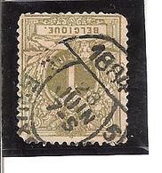 """Belgique N°42 Cachet Pour Imprimé""""Bruxelles 5"""" - 1869-1888 Lion Couché"""