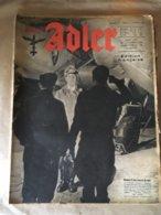 """Revue """" ADLER """" Berlin Le 08 Fevrier 1944 N° 3 - 5. World Wars"""