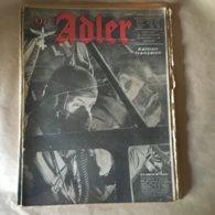 """Revue """" ADLER""""  Berlin Le 11 Janvier 1944 N° 1 - 5. World Wars"""