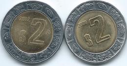 Mexico - 2 Pesos - 2000 & 2012 - KM604 - Mexico