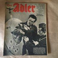 """Revue """" ADLER""""  Berlin Le 2 Mai 1944 N° 9 - 5. World Wars"""