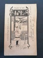 Illustrateur. Journal La Poupée Modèle. Petite Fille. - Other Illustrators