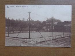 Orroir, Mont De L'Eclus, Tennis De L'Hotel Des Sapinières -> Beschreven - Kluisbergen