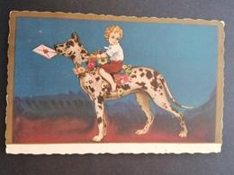 Illustrateur. Italien. Style Zandrino. Chien. Enfant. - Illustrators & Photographers