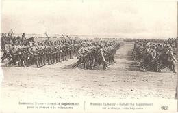 Infanterie Russe - Avant Le Déploiement Pour La Charge à La Baïonnette - (ELD - E. Le Deley, Imp.) - Weltkrieg 1914-18