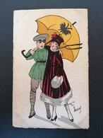 Illustrateur.Signé. Edt D'art Paris. Couple. - Illustrators & Photographers