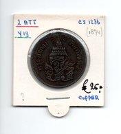 THAILAND 2 ATT CS1236 - 1874 - Thaïlande