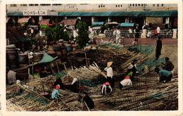 CPA AK VIETNAM INDOCHINE-Saigon-Dépot De Canne A Sucre (321043) - Viêt-Nam
