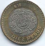 Mexico - 10 Pesos - 2010 Mo - KM616 - Mexico