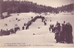 Jura - Morez - Concours De Ski - Le Tremplin Et La Piste Sauts - Morez