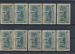 FRANCE - N°444X10 NEUFS** SANS CHARNIERE - 1939 - Neufs