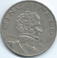 Mexico - 5 Pesos - 1976 Mo - KM472 - Mexico