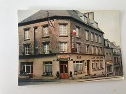 Carte Postale Ancienne  MORTAIN Hôtel-Restaurant Des Cascades Tél. 3 L. VALLEE Prop. Chef De Cuisine - Autres Communes