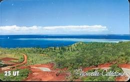 NOUVELLE CALEDONIE  -  Phonecard  - Route De Port Boisé  -  NC 97  -  25 Unités - Nueva Caledonia