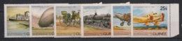 Guinée - 1984 - N°Yv. 736 à 739 + PA 162 à 163 - Transports - Neuf Luxe ** / MNH / Postfrisch - Guinea (1958-...)