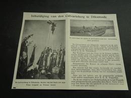"""Origineel Knipsel ( 3755 ) Uit Tijdschrift """" Ons Volk """"  1928 :   Diksmuide   Dixmude - Non Classés"""