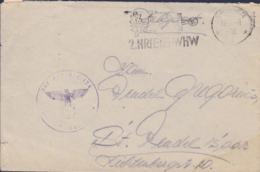 German Feldpost WW2: Infanterie Ersatz Bataillon 124 P/m Speyer 17.4.1941 - Letter  (G111-44) - Guerre Mondiale (Seconde)
