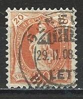 SBK 86C Genève O 29.2.1908 (Schalttag) - Oblitérés