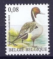 BELGIE * Buzin * Nr 4091 * Postfris Xx *  WIT  PAPIER - 1985-.. Oiseaux (Buzin)
