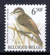 BELGIE * Buzin * Nr 2577 * Postfris Xx * WIT  PAPIER - WITTE GOM - 1985-.. Birds (Buzin)