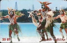 NOUVELLE CALEDONIE  -  Phonecard  -  Danseur De Wapan  -  NC 106  -  25 Unités - Nueva Caledonia