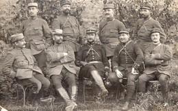 CARTE PHOTO - GUERRE 14/18 - Officiers Du 147e Régiment D'Infanterie - 25/10/1914 - Guerre 1914-18
