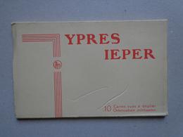 Ieper Ypres  Carnet  De 10-1 Cartes Ed Nels Thill - Ieper
