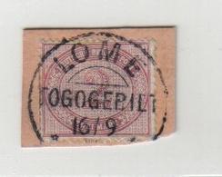 Togo VORLÄUFER V37e Gestempelt Lome Auf Briefstück Geprüft Steuer BPP ( Prüfstempel Auf Der Rückseite ) - Colony: Togo