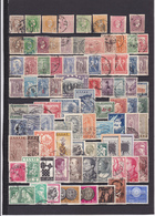 UN LOT DE 161 TIMBRES OBLITéRéS - Collections