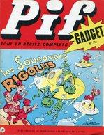 Pif Gadget N°144 - Teddy Ted - Docteur Justice - Pif Gadget