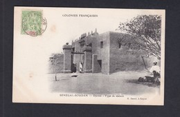 Vente Immediate Colonies Francaises  Mali  Senegal Soudan  Djenne Type De Maison ( Ed. Danel  Ref 41377) - Mali