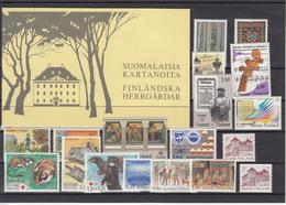 Finland 1982 - Full Year MNH ** - Ganze Jahrgänge