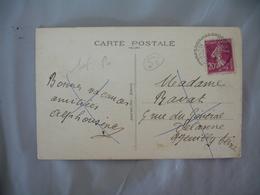 Bignan  Morbihan Facteur Boitier Cachet Perle - Postmark Collection (Covers)