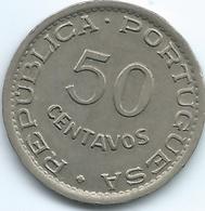 Mozambique - Portuguese - 50 Centavos - 1950 - KM76 - Mozambique